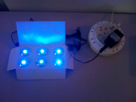 Blue led outdoor lights collection Thornton heath