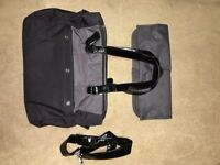 iCandy Black baby bag