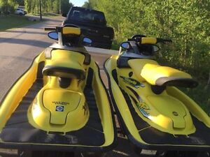 Matching Sea-Doo XP Limited - Double Trailer
