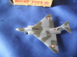 Dinky by Meccano - Die Cast Gloster Javelin Fighter Plane #735