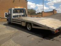 2003 Ford Transit recovery truck stretched body