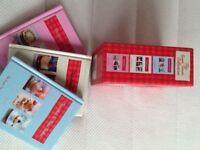 🍮❤️🍪🍰 brand new set of 3 sweet treat mini baking books