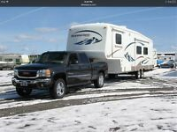 Truck Enclosed Trailer - Motorcycle & Camper Transport