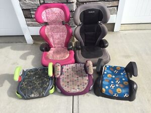 Booster seats, take 1 or all! ( tall ones Sold)