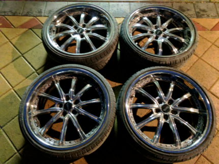 """Set of 20"""" wheels 5x105pcd in mint condition!"""