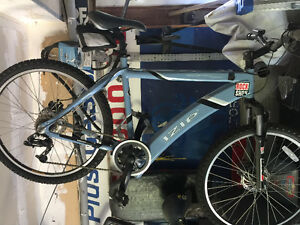 Izip electric assist mountain bike sell or trade b/0