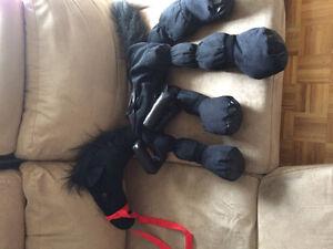 Costume d'halloween cheval