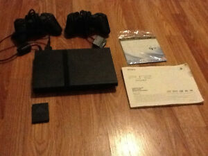 Sony PS2 +memory Card +  games