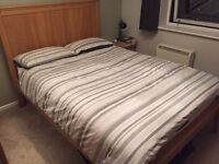 IKEA Herefoss Double Bed Frame