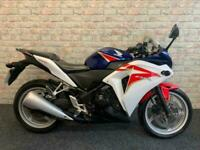 2012 12 Honda CBR 250 R white and blue 17k lovely condition