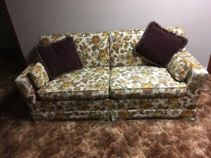 Hide-a-bed couch
