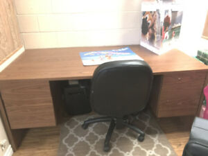 Office Desk & Chair -- MUST GO!!