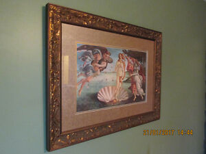"BEAUTIFUL LARGE PRINT NAMED ""THE BIRTH OF VENUS'"