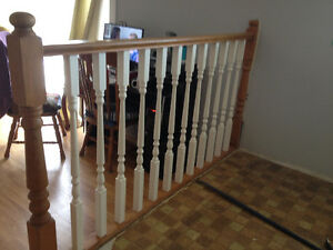 kitchen railing assemby