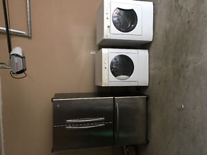 Washer / dryer and refrigerator for sale
