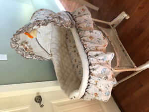Baby bassinet and swing