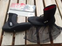 Tiki Neoprene Boots NEW