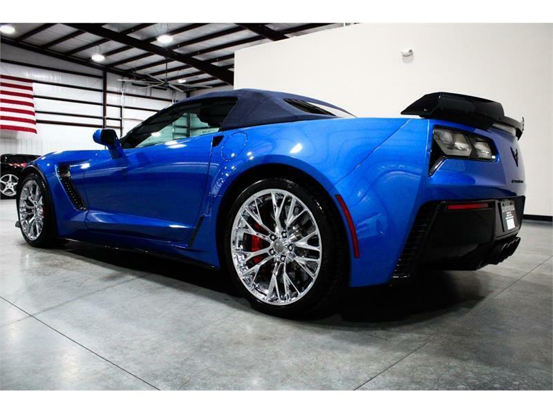 2016 Blue Chevrolet Corvette Z06 3LZ | C7 Corvette Photo 3