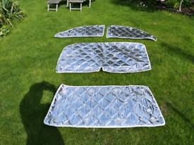 Campervan silver screens