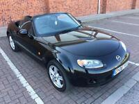 2006 06 Black Mazda MX-5 1.8i