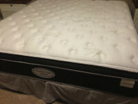King size mattress box spring and frame