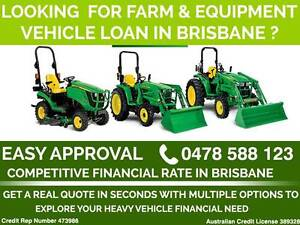 Tractor , Mower and Agriculture Equipment Finance - Brisbane Brisbane City Brisbane North West Preview