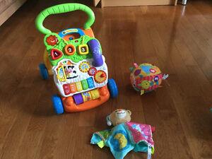 Lot de jouets de bébé v-tech parlant