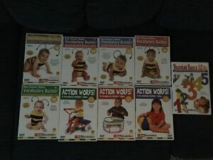 Entire Introductory Set of Baby Bumblebee DVD's