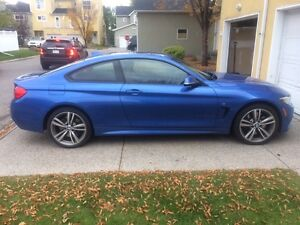 BMW 435xi all wheel drive, summer driven and babied