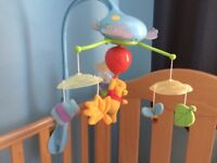 Winnie the Pooh Baby Cot Mobile