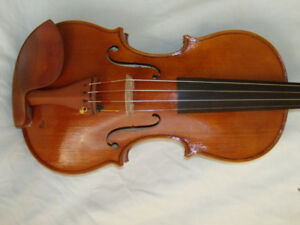 2 VIOLINS MADE BY A FRENCH/SICILIAN VIOLIN MAKER