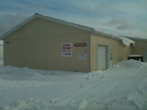 7400 Sq foot shop for sale