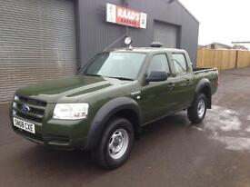 2008 Ford Ranger 2.5 TDCi Double Cab *Forestry * Wildlife Conversion* 141k*