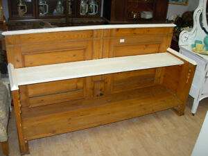 Old Pine Bench or Display