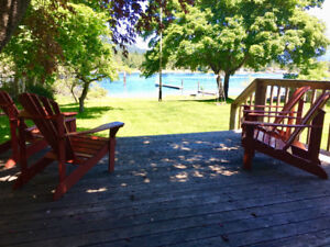 Lakefront Kootenay Cottage-Dog Friendly-Oct 1 - May 31st