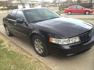 Black Cadillac STS Seville