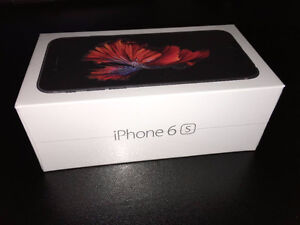 Iphone 6S 128 gigs Bell/Virgin Brand new $650 Firm