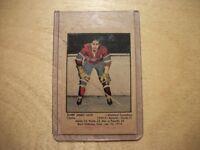 1951 Parkhurst ELMER JAMES LACH Card #1 Montreal Canadiens
