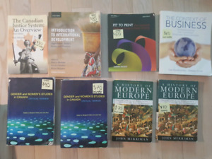 University Books 1001- 1st and 2nd Year Books for Sale