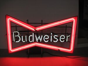 Budweiser Old Neon Sign