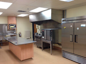 Commercial Kitchen available for rent in West End