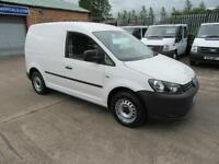 2014 VW Volkswagen Caddy 1.6TDI ( 102PS ) C20 Parcel Delivery Courier Van White