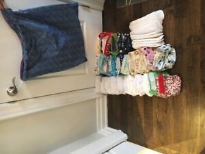 Cloth Diapers Good Condition