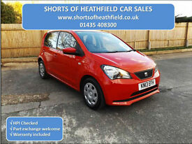 Seat Mii 1.0 Eco S/S (VW UP/Skoda Citigo) - 5 Dr H/B - Zero Road tax - 2013