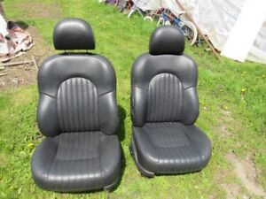 Front Seats - Black Leather