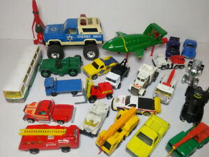 Large Lot of Die-cast Collection with Trucks, Cars & Others