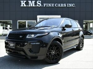 2017 Land Rover Range Rover Evoque HSE DYNAMIC/ BLACK PKG/HEADS