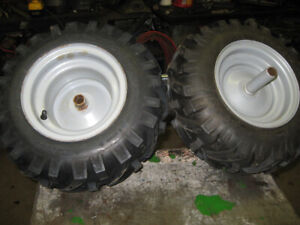 Snowblower Rims and tires