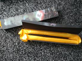 2 plastic Harry potter wands