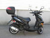 Scooter + accessoires